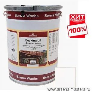 Масло датское Borma Decking Oil 5 л для террас Бесцветное 4972-IL ХИТ!
