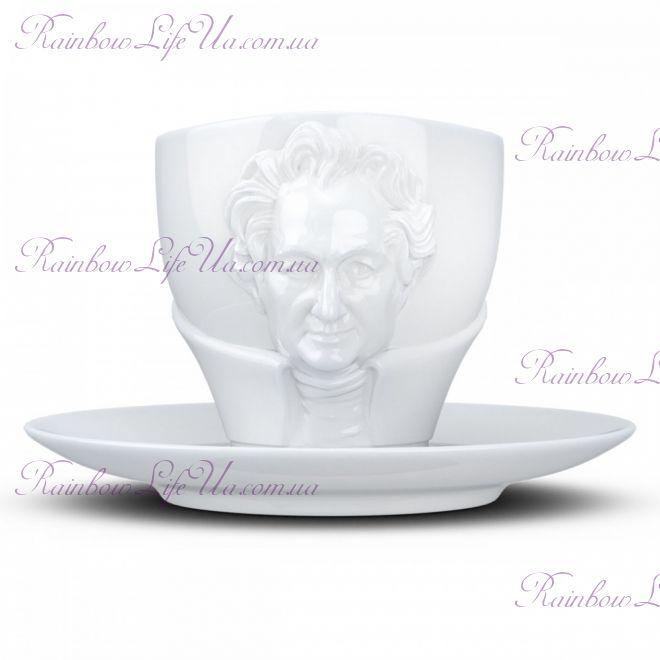 """Чашка с блюдцем Tassen """"Иоганн Вольфганг фон Гете"""" 260 мл"""