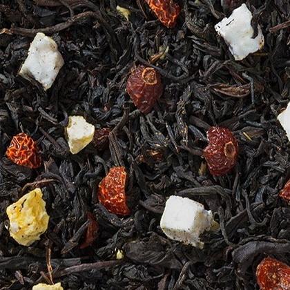 Искушение - черный чай с натуральными добавками.