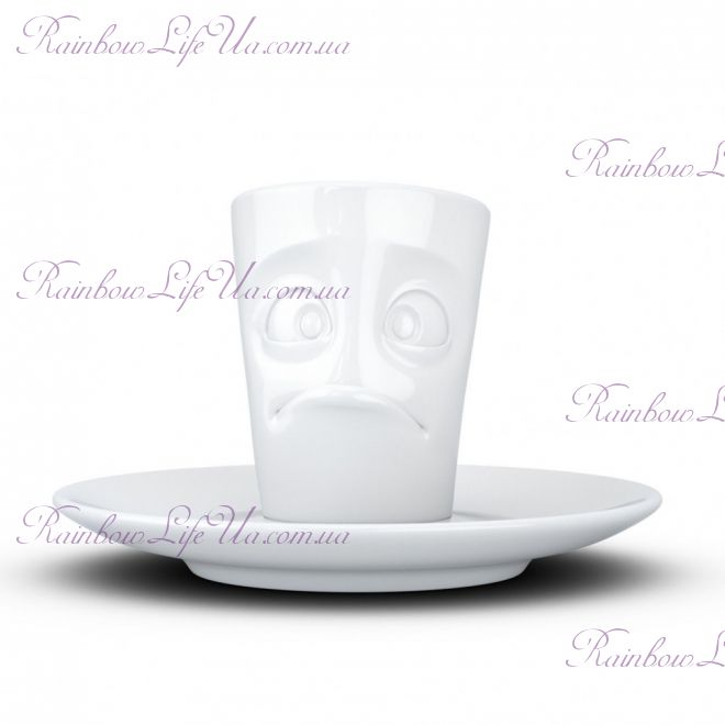 "Чашка с блюдцем Espresso Tassen ""Тормоз"" 80 мл"