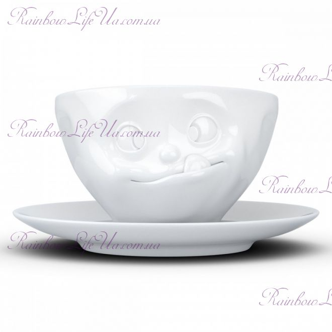 "Чашка с блюдцем для кофе 200 мл Tassen ""Вкуснятина"""