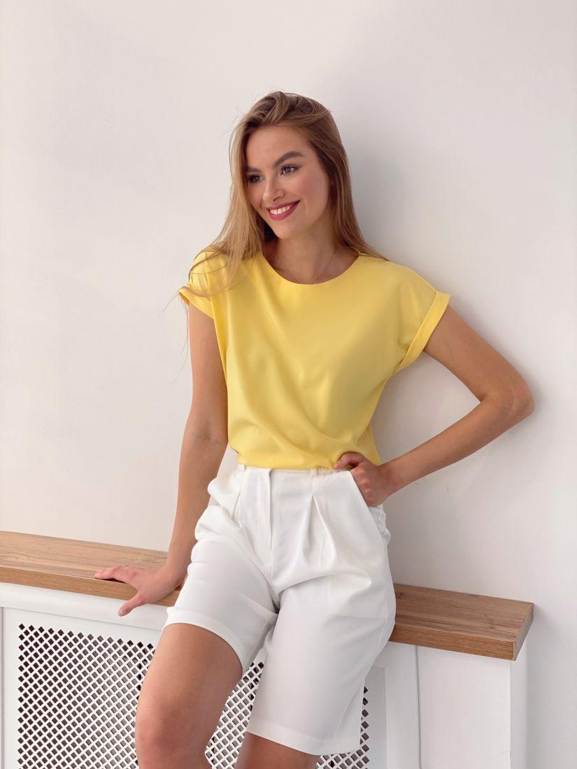 4062 Топ в цвете sunny yellow