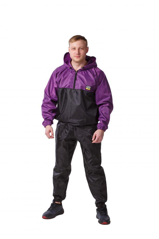 Костюм-сауна SPR Premium (Черный-Фиолетовый)