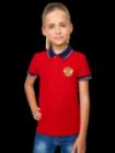 Спортивное поло детское RUSSIA Addic
