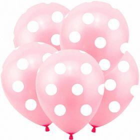 """Горох розовый, Розовый, 5 ст., 12"""", пастель, 100 шт"""