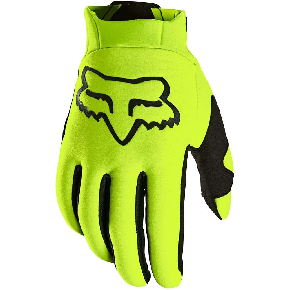 Fox 2021 Legion Thermo Fluorescent Yellow перчатки утепленные