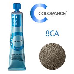 Goldwell Colorance 8CA - Тонирующая крем-краска Холодный пепельный блонд 60 мл