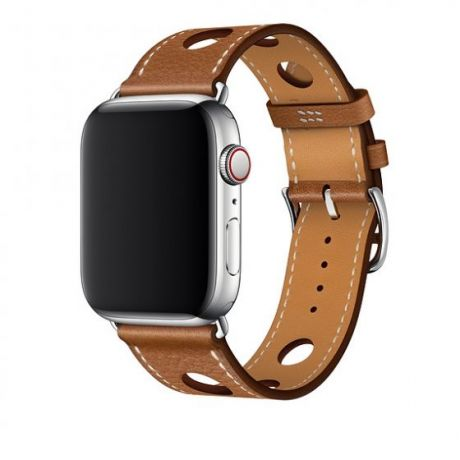 Ремешок Apple Watch Hermès 44mm Leather Single Tour