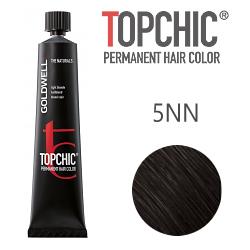 Goldwell Topchic 5NN - Стойкая краска для волос - Светло-коричневый экстра 60 мл.