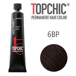 Goldwell Topchic 6BP - Стойкая краска для волос - Жемчужный светлый шоколад  60 мл.