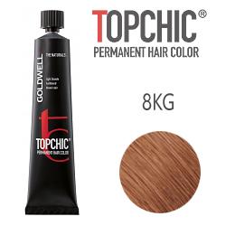 Goldwell Topchic 8KG - Стойкая краска для волос - Медно-золотистый блондин 60 мл.