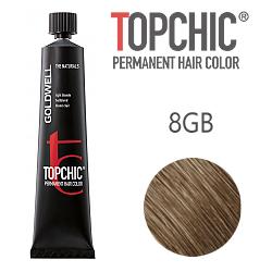 Goldwell Topchic 8GB - Стойкая краска для волос - Песочный светло-русый 60 мл.