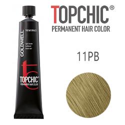 Goldwell Topchic 11PB - Стойкая краска для волос - Перламутрово-бежевый блонд 60 мл.