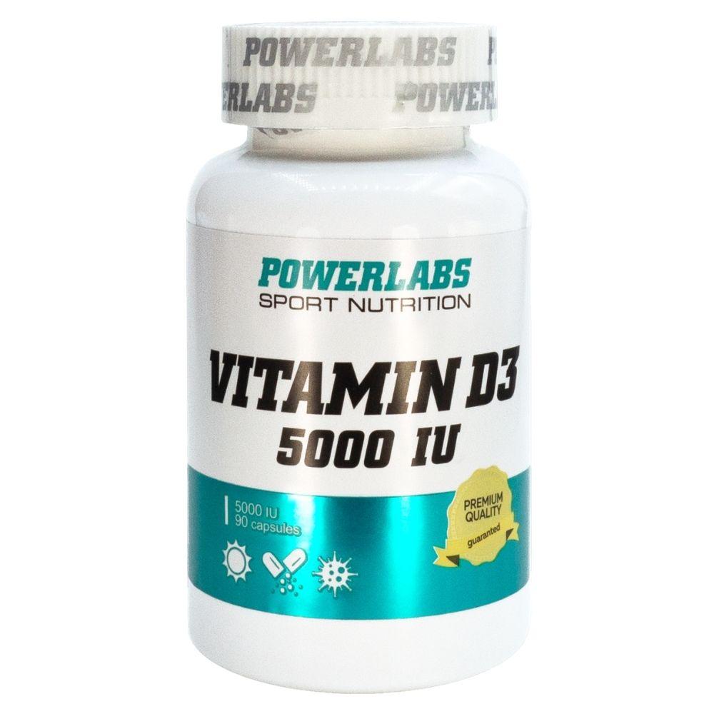 PowerLabs Vitamin D3 5000 IU 90 caps