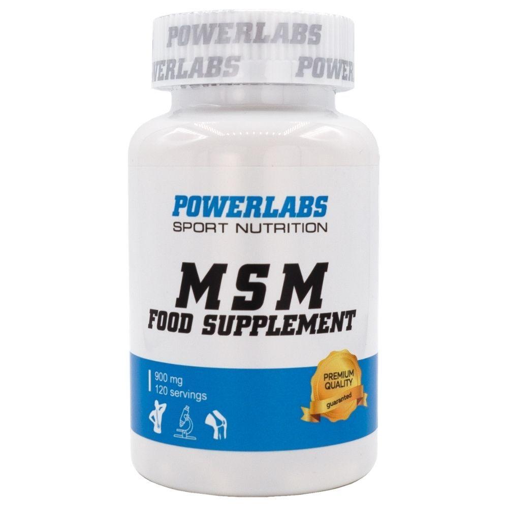 PowerLabs MSM 120 caps