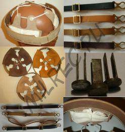 Подшлемник M16 для германских шлемов периода ПМВ (качественная реплика)