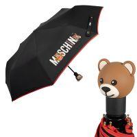 Зонт складной Moschino 8031-OCA Toy Band Black