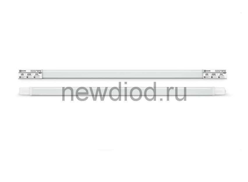 Светильник светодиодный герметичный ССП-155 40Вт 230В 6500К 3000Лм 1200мм IP65 IN HOME