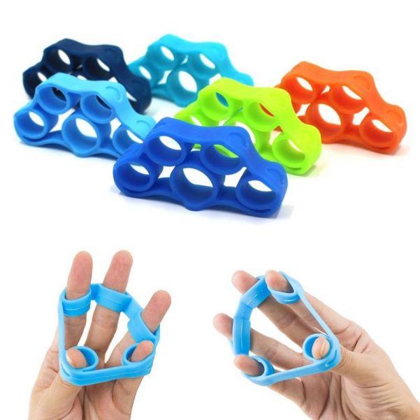Силиконовый тренажер для пальцев рук, 3 шт