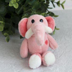 Игрушка для куклы Nici,  слоненок розовый