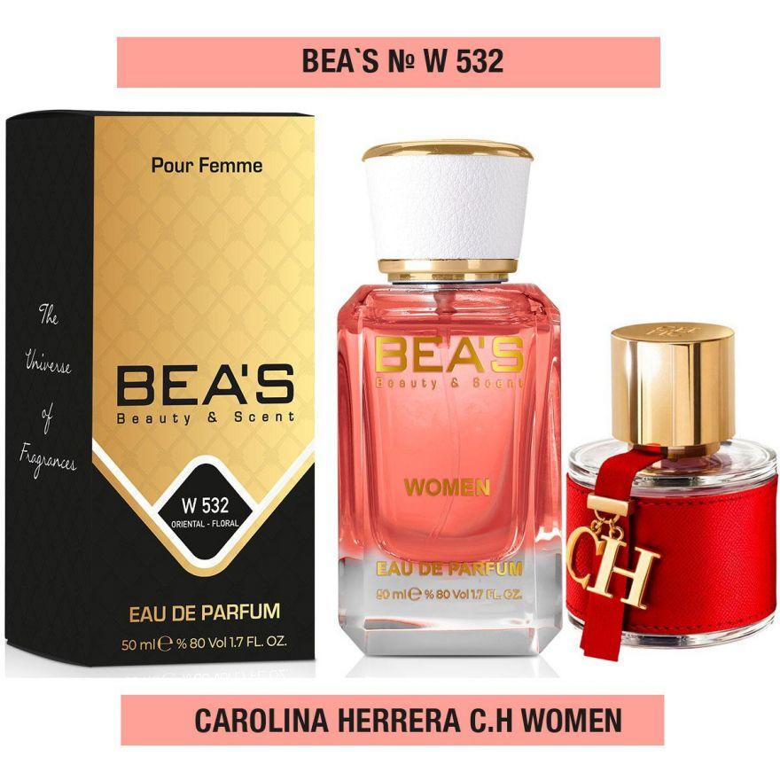 BEA'S (Beauty & Scent)  W 534 - Carolina Herrera C.H 50 мл