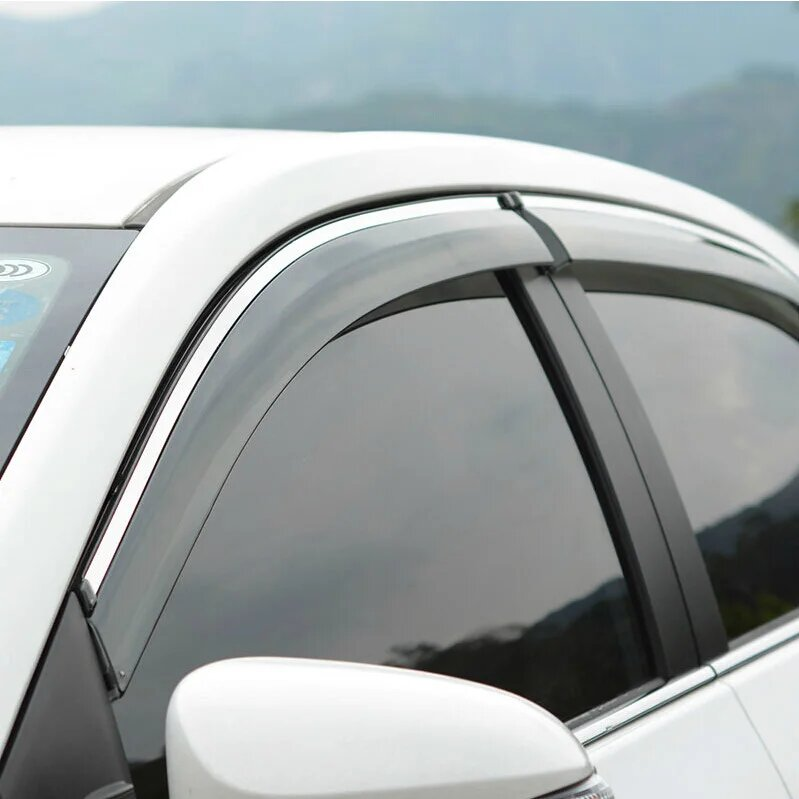 Дефлекторы окон Hyundai Getz 5 дверная (2002-2011г)
