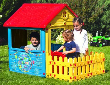 Дом с забором Dolu 3013
