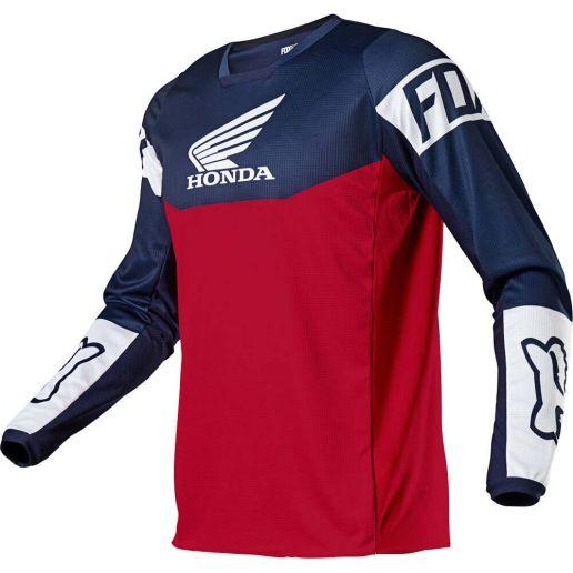 Fox 180 Honda Navy/Red джерси для мотокросса