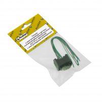 RK04182 * Разъем к электроприводу и датчику положения дроссельной заслонки для 16-кл. двигателей с электропедалью акселератора (с проводами сечением 0,5 кв.мм, длина 120 мм)