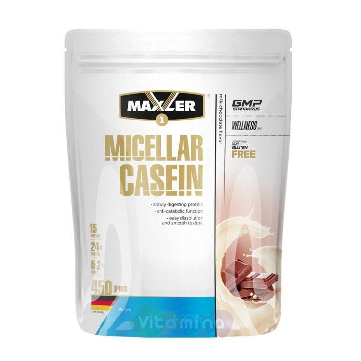 MAXLER Мицеллярный Казеин Micellar Casein, 450 г