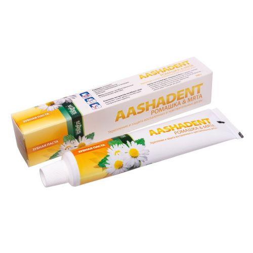 Зубная паста | Ромашка-мята | 100 г | Aasha