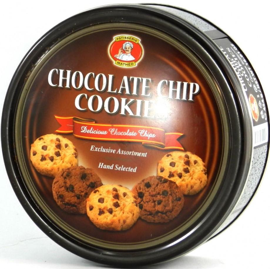 Печенье Butter Cookies Choсolate Chip 454г