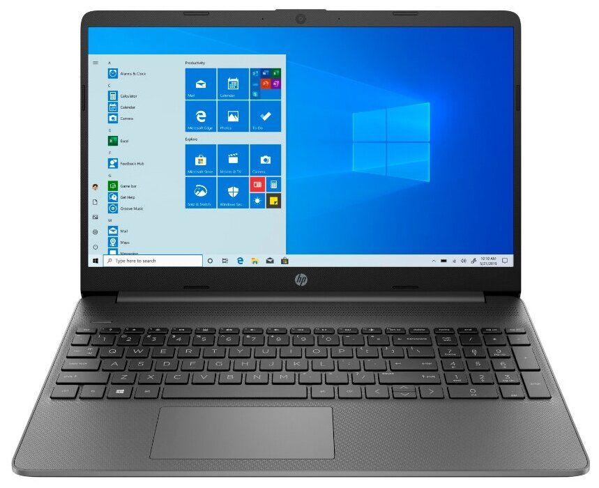 Ноутбук HP 15s  Win10 Серый (2X0R8EA)