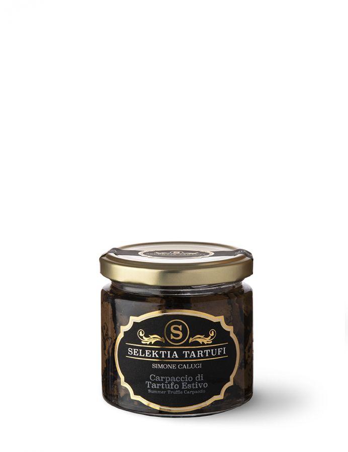 Карпаччо из летнего трюфеля 35 г. Carpaccio di tartufo estivo, Selektia Tartufi 35 g