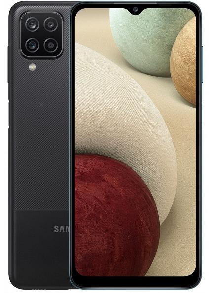 Смартфон Samsung Galaxy A12 (SM-A125) 4/128 ГБ RU, черный