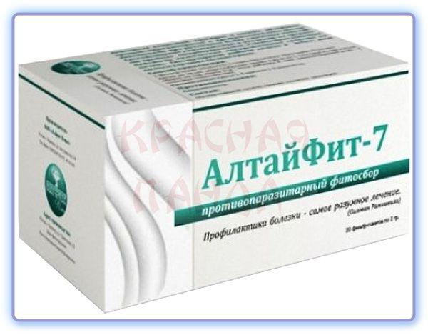 Фитосбор Алтайфит-7 Противопаразитарный Алфит Плюс