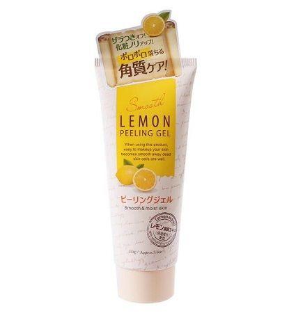 "Daiso Japan ""Lemon Peeling Gel Smooth"" разглаживающий и увлажняющий пилинг-гель для лица (лимон)"
