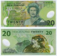 НОВАЯ ЗЕЛАНДИЯ - 20 долларов. Полимерная банкнота