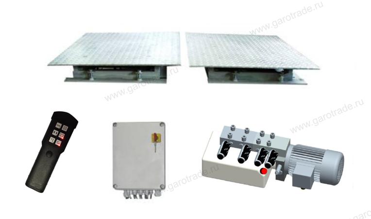 GST 4600 (FA SET) люфт-детектор подвески и привода рулевого управления