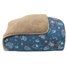 Одеяло меховое из открытой шерсти Орнаментальная фантазия