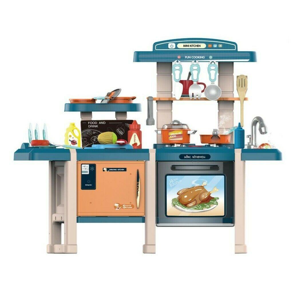 MJL-713 Детская игровая кухня с паром, водой 70 см. Happy Chef