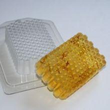 Пластиковая форма для мыла и шоколада Соты