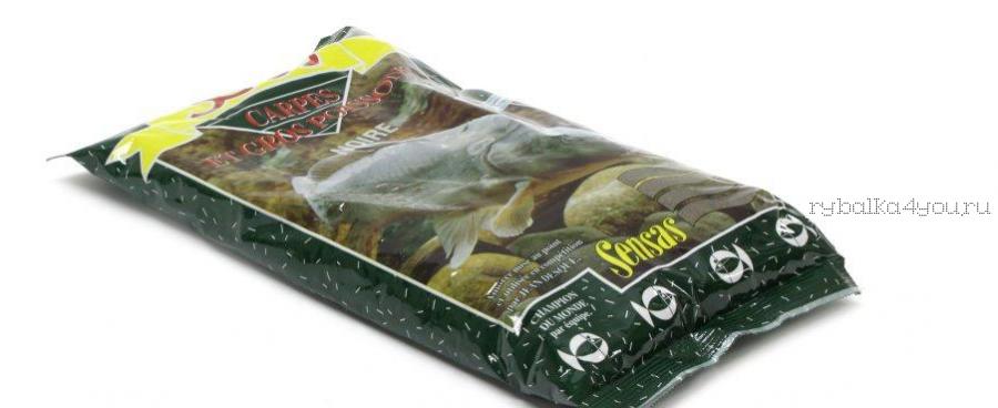 Прикормка Sensas 3000 Carp Noire 1 кг