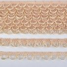 фото тесьма декоративная плетеная c воздушными петлями 18 мм. UU.296
