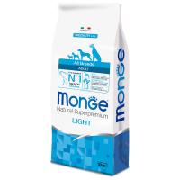 Сухой корм для собак Monge Speciality line Light лосось с рисом 12 кг