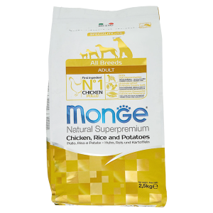 Сухой корм для собак Monge Speciality line с курицей рисом и картофелем 2.5 кг