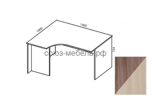 Триумф  Стол угловой СТ-УГ 1,4х1,0