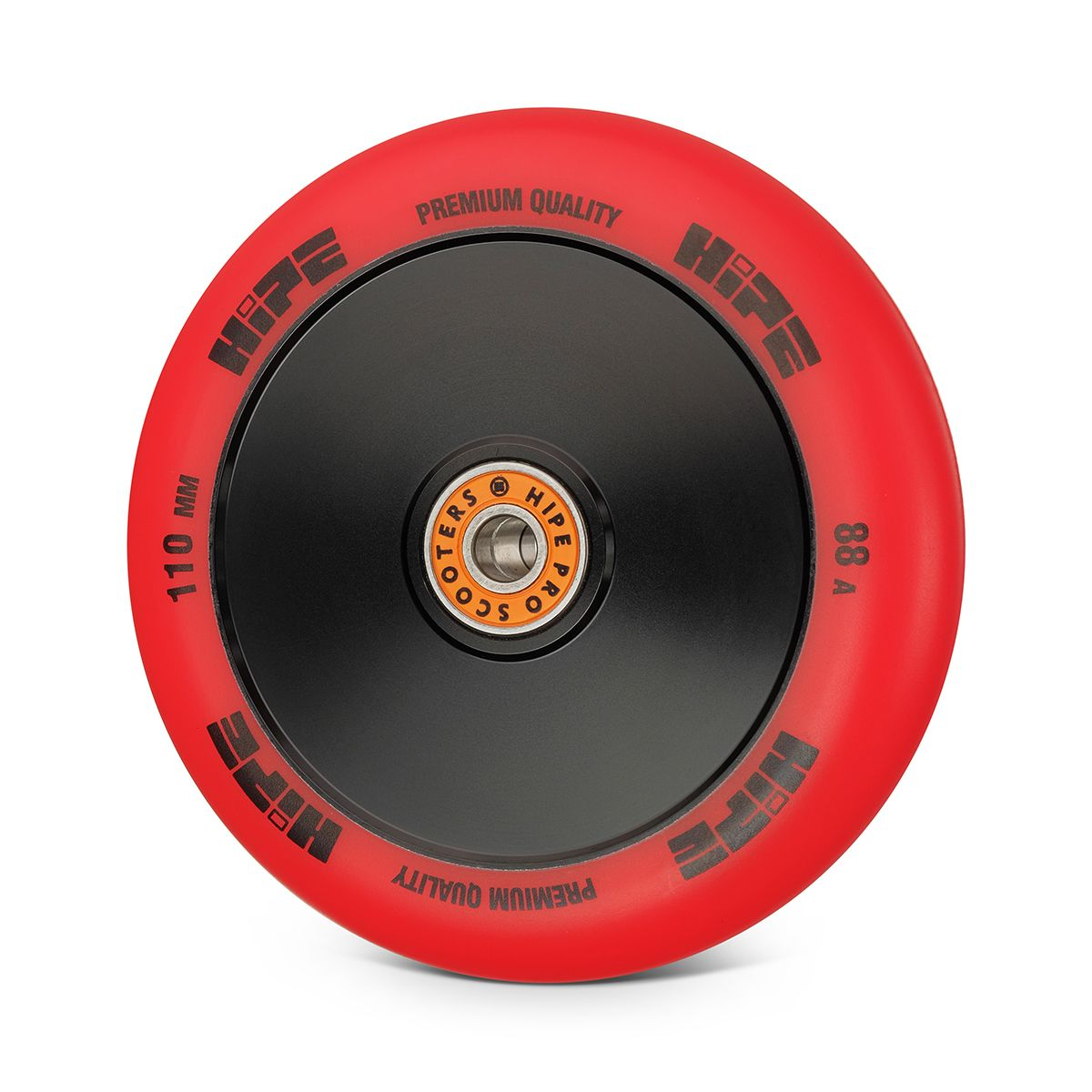 Колесо HIPE Medusa wheel LMT20 110мм red/core black