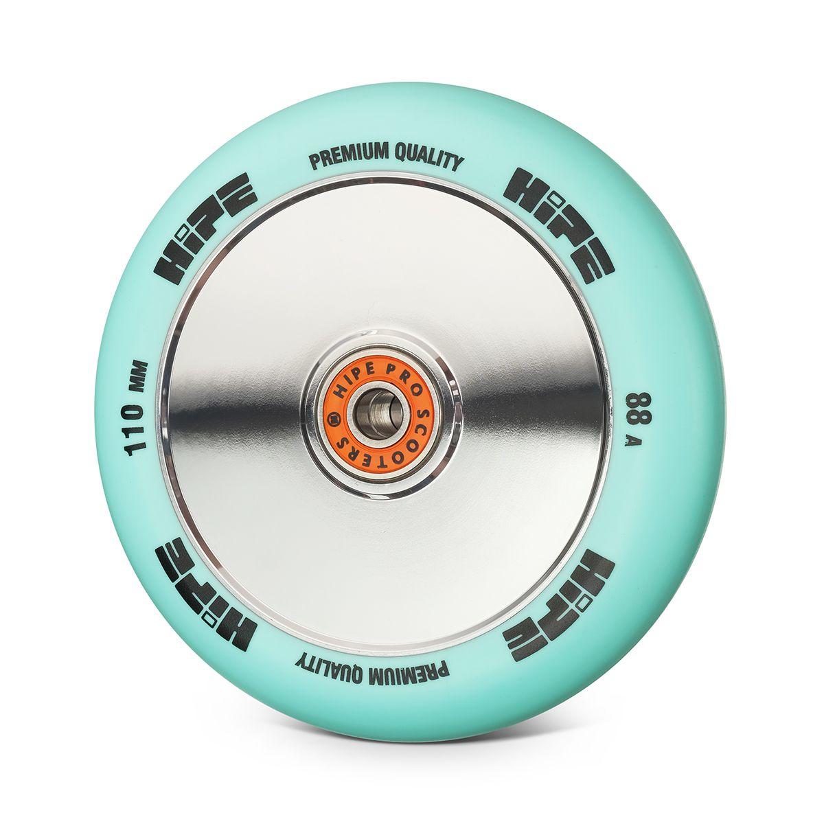 Колесо HIPE Medusa wheel LMT20 110мм sky blue/core chrome