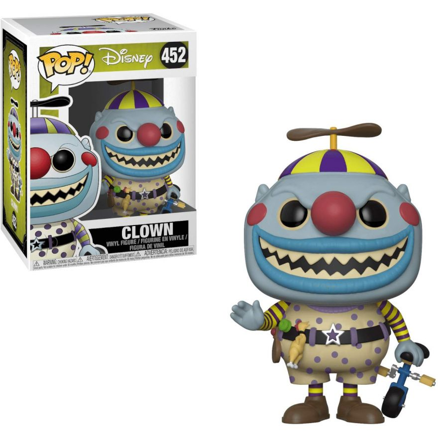 Фигурка Funko POP! Vinyl: Disney: NBX: Clown w/ a Tear-Away Face Chase 32840